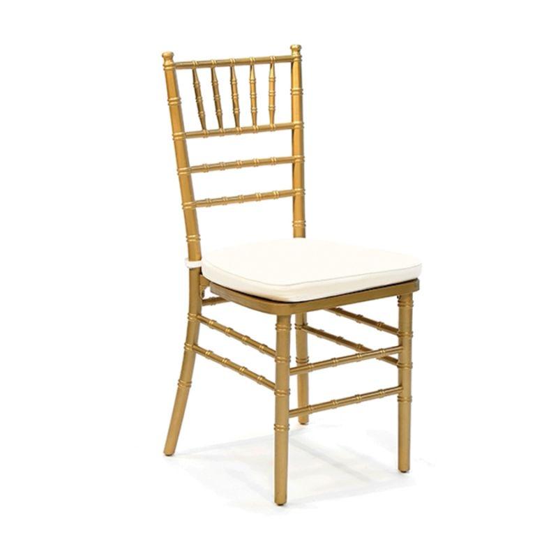 ოქროსფერი სკამი ტიფანი