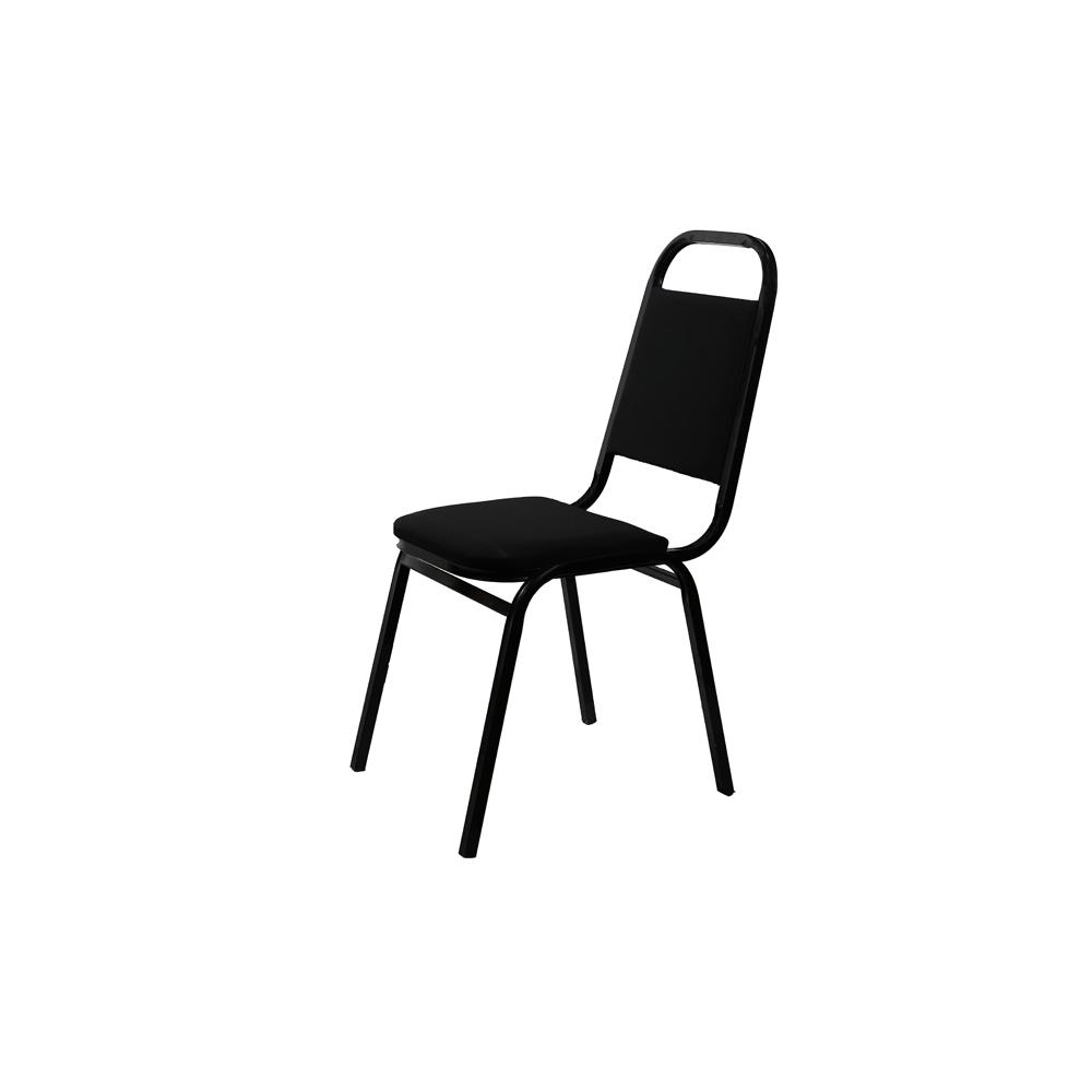 საკონფერენციო სკამი შავი