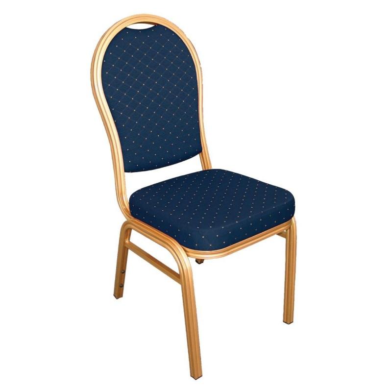 საკონფერენციო სკამი ლურჯი