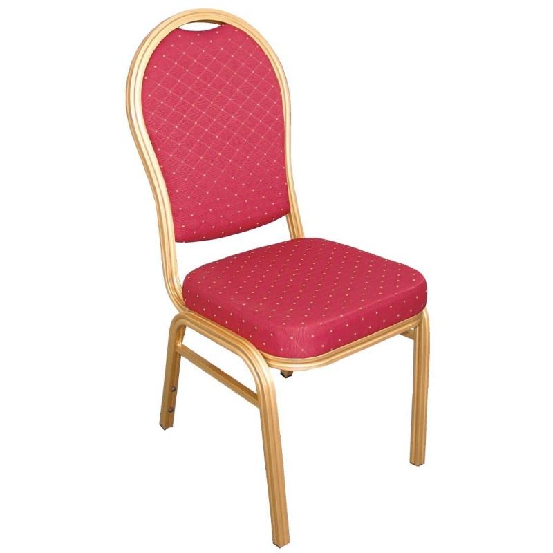 საკონფერენციო სკამი წითელი