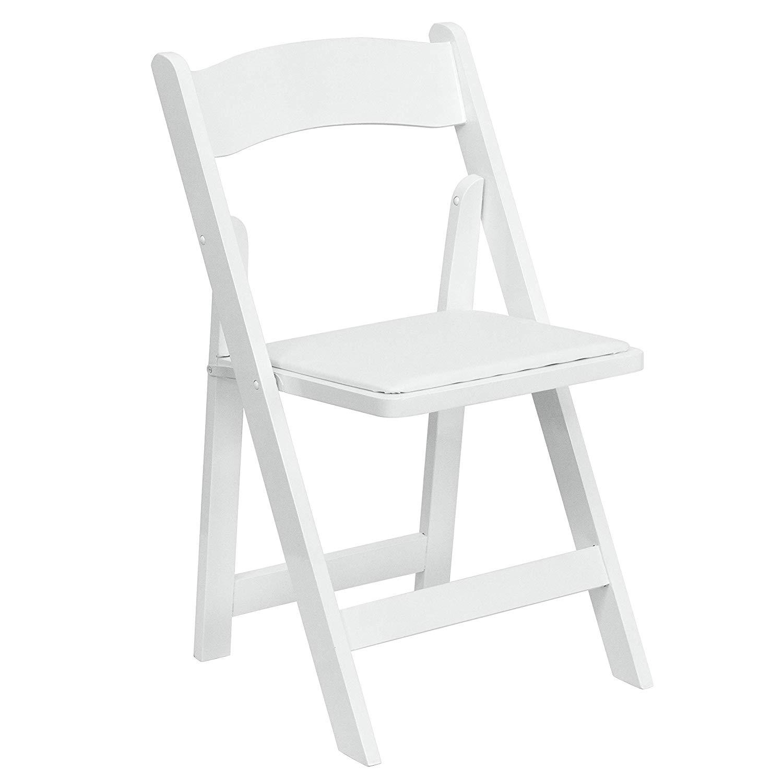 ხის თეთრი სკამი
