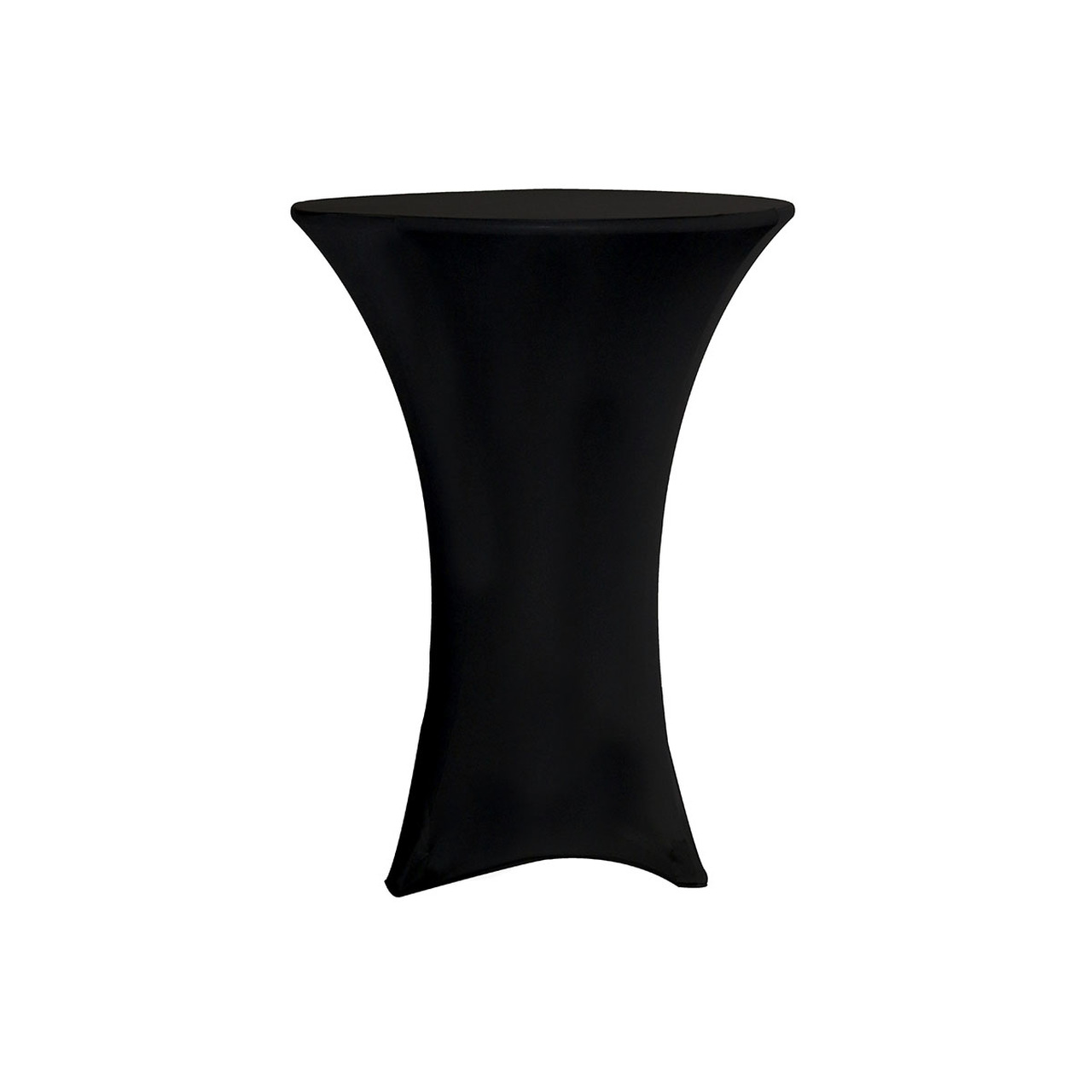 SPANDEX TABLE COVER BLACK