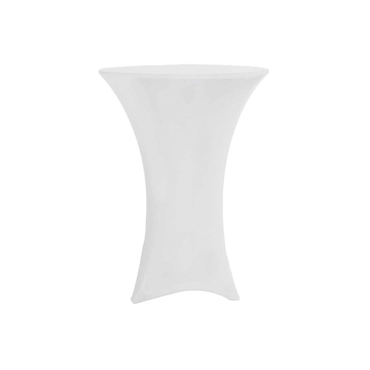 Spandex Table Cover White