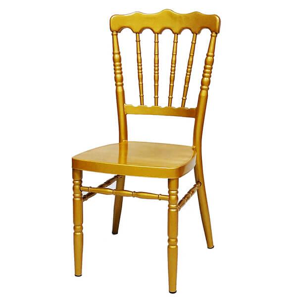 ოქროსფერი სკამი ნაპოლეონი