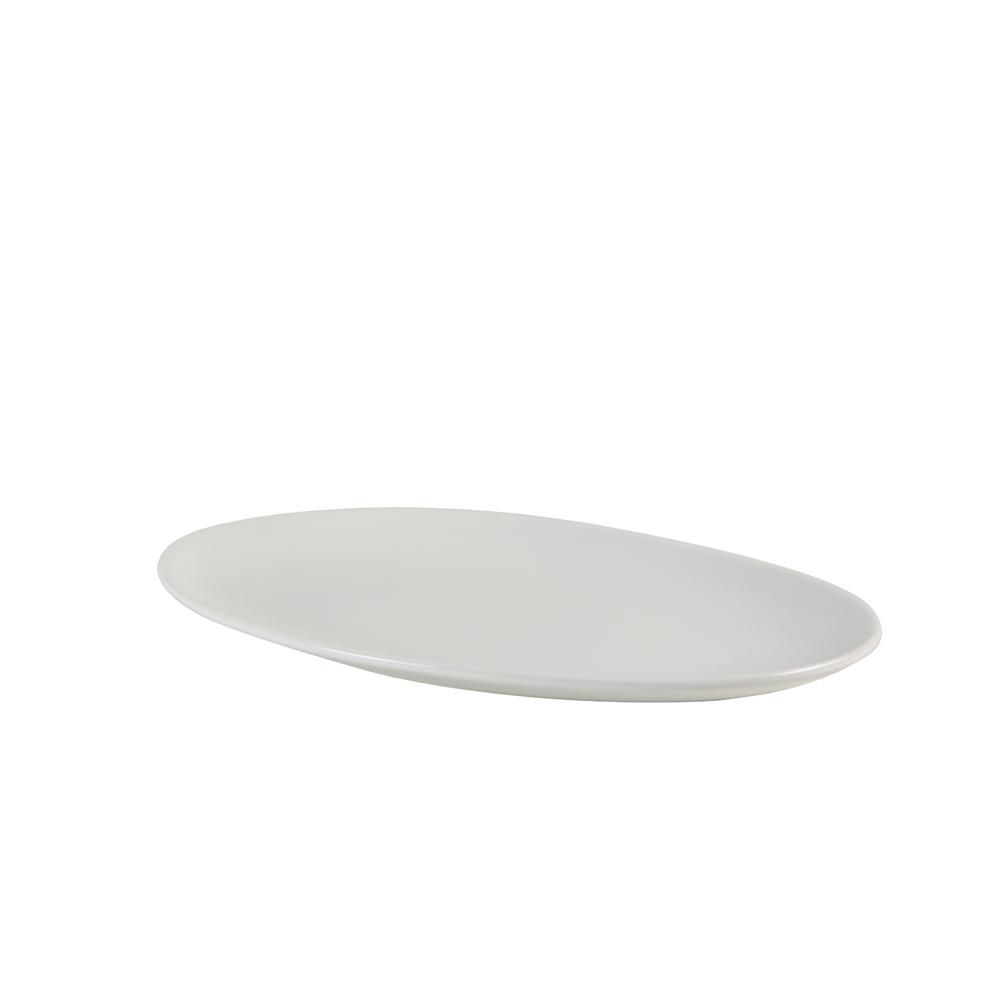 Овальная сервировочная тарелка