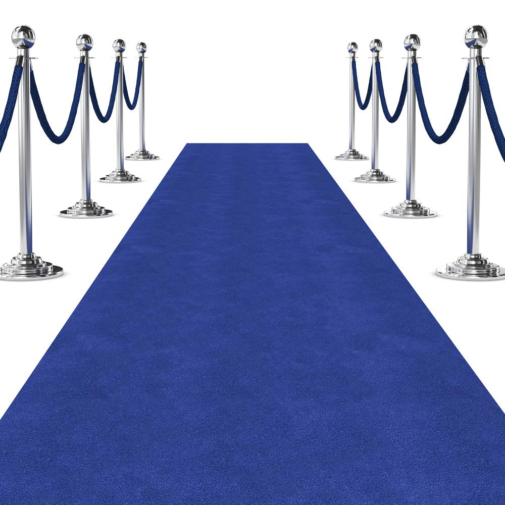 Blue Carpet Runner