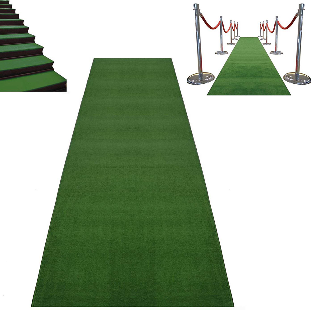 Green Carpet Runner
