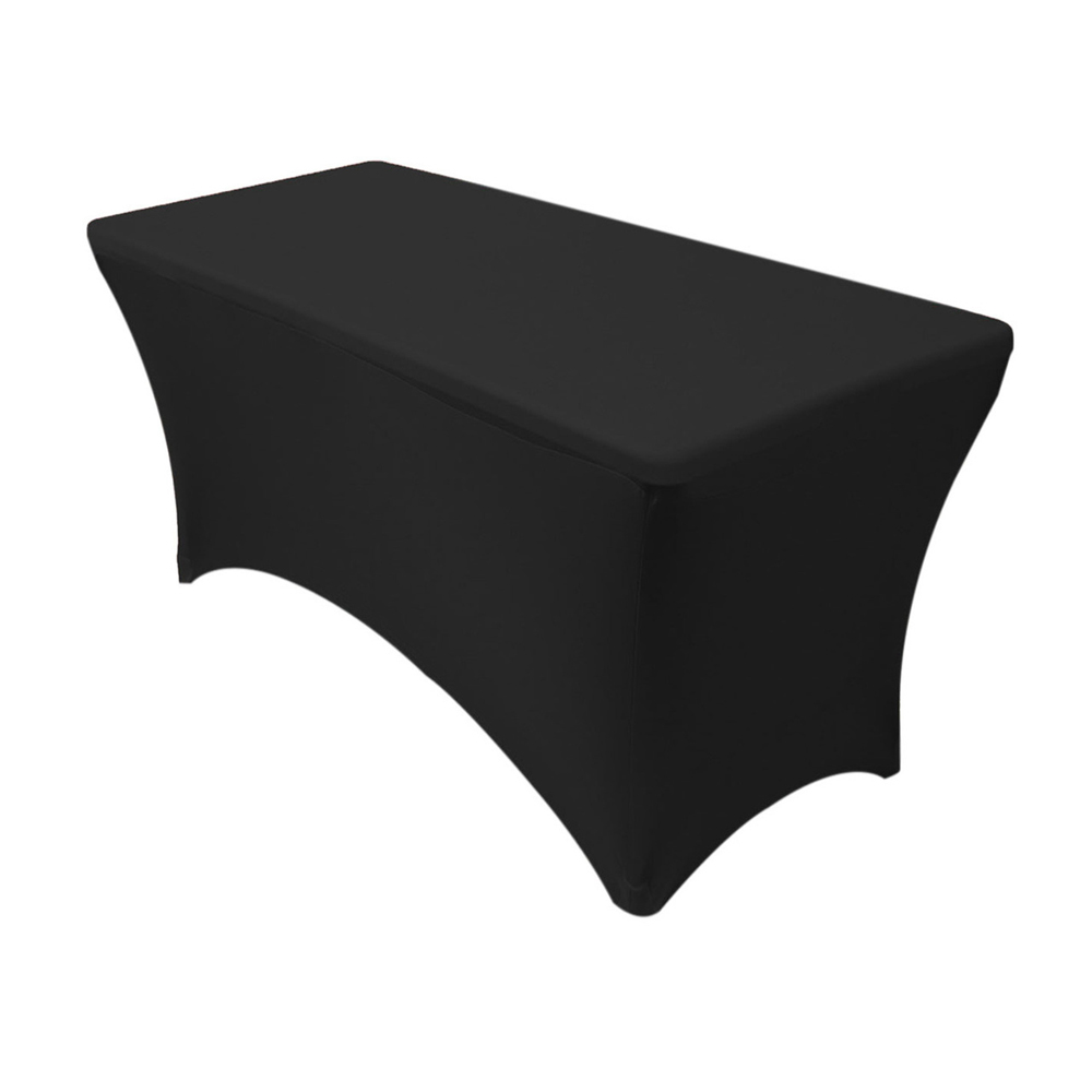 Rectangular Table with Tablecloth
